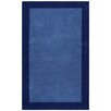St. Croix Pulse Border Blue Tufted Area Rug