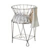 St. Croix Kindwer Vintage Wire Laundry Hamper