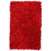 St. Croix Shimmer Hand-Loomed Red Area Rug