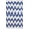 St. Croix Hacienda Blue/White Chevron Area Rug