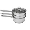 Ragalta 4 Piece 3 Qt. Double Boiler with Lid