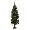 General Foam Plastics 4' Green Alpine Christmas Tree with 70 Clear Lights