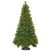 General Foam Plastics 7.5' Royal Mixed Pine Christmas Tree with 600 Clear Lights