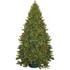 General Foam Plastics 9' Montana Green Artificial Christmas Tree with 950 Multicolored Lights