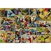 Komar Tapete Comic Heroes 254 cm L x 368 cm B
