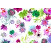 Komar Fleurs de Paris 2.54m L x 368cm W Roll Wallpaper
