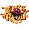 Komar Wandsticker Muppets Tier Rock'n Roll