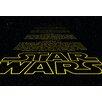 Komar Star Wars Intro 2.48m L x 368cm W Wallpaper