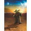 Komar Tapete Star Wars Meister Yoda 254 cm L x 184 cm B