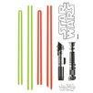 Komar Star Wars Lichtschwert Wall Sticker
