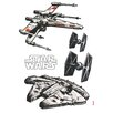 Komar Star Wars Spaceships Wall Sticker
