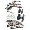 Komar Wandsticker Star Wars Spaceships