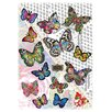 Komar Melli Mello Butterflies Wall Sticker