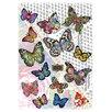 Komar Wandsticker Melli Mello Butterflies