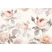 Komar 4 Piece La Maison Floral Wall Mural Set