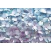 Komar 8 Piece Hydrangea Flower Wall Mural Set
