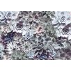 Komar 8 Piece Shades Textured Flower Wall Mural Set