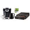 Keurig Keurig 2.0 K350 Brewing System with Under Brewer Storage Drawer and Mountain Breakfast Blend K-Cups