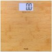 American Weigh Scales Digital Bamboo LCD Weight Scale