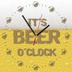 Contento Analoge Wanduhr It's Beer O'Clock