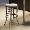 "Amisco New York Style 30"" Bar Stool with Cushion"