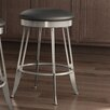 "Amisco Library Luxe Style 30"" Swivel Bar Stool with Cushion"