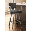 "Amisco Urban Style 26.25"" Swivel Bar Stool with Cushion"