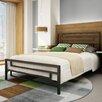 Amisco Temple Slat Panel Bed
