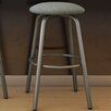 "Amisco Log 31.38"" Swivel Bar Stool with Cushion"