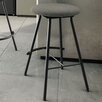 "Amisco Shortcut 31.13"" Swivel Bar Stool with Cushion"