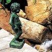 Brass Belgian Boy Fountain - Brass Baron Indoor and Outdoor Fountains