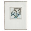 Majestic Mirror Mixed Media Three Dimensional Glass Painting Print