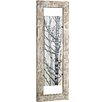 Majestic Mirror Tall Mixed Media Woodland Framed Graphic Art