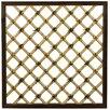 Traditional Wood Lattice Panel Trellis - Oriental Furniture Trellises