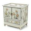 Oriental Furniture Lacquer White Empress Jewelry Box