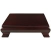 Oriental Furniture Rosewood Novelty Plant Stand
