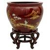 Oriental Furniture Landscape Vase