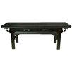 Oriental Furniture Japanese Rosewood Bench