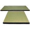 Oriental Furniture Tatami Solid Mat (Set of 9)