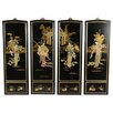 Oriental Furniture 4 Piece Lady Generals Wall Décor Set
