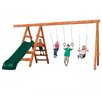 Swing-n-Slide Play Set Pioneer Deluxe DIY Swing Set
