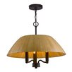 Woodbridge Lighting Sorg 3 Light Bowl Pendant