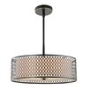 Woodbridge Lighting Spencer 3 light Drum Pendant