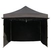 Impact Instant Canopy Alumix 10'x10' EZ Pop Up Canopy Tent Instant Canopy Commercial Tent with Sidewalls
