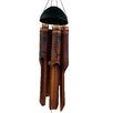 Bone Fish Simple Bamboo Wind Chime - Cohasset Gifts & Garden Garden Statues and Outdoor Accents