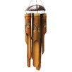 Monarch Butterfly Simple Bamboo Wind Chime - Cohasset Gifts & Garden Garden Statues and Outdoor Accents