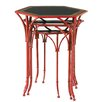 Evergreen Enterprises, Inc Floral Pagoda 3 Piece Nesting Table