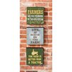 Evergreen Enterprises, Inc 3 Piece Farmer Wooden Plock Set