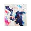 Evergreen Enterprises, Inc Watercolor Cow, Indoor Wall Canvas