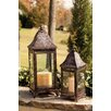 Evergreen Enterprises, Inc Metal Lantern (Set of 2)